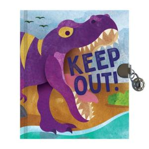 T-Rex Locked Diary