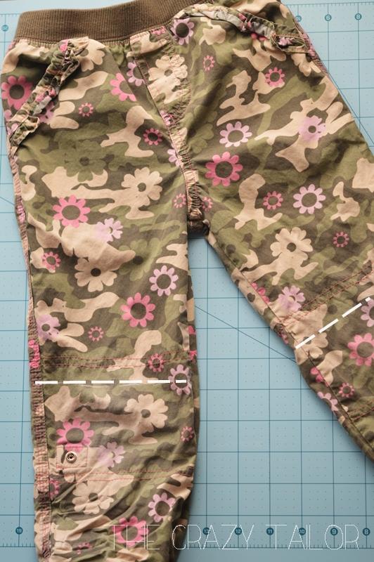 Pants turned Skirt