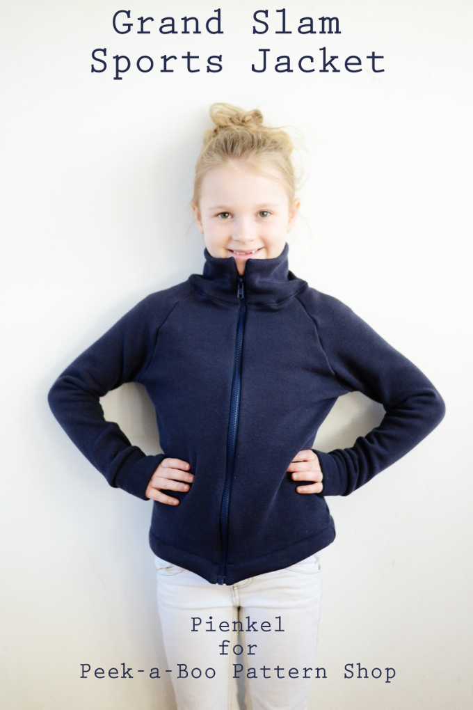 Grand Slam Sports Jacket - Pienkel for Peek-a-Boo