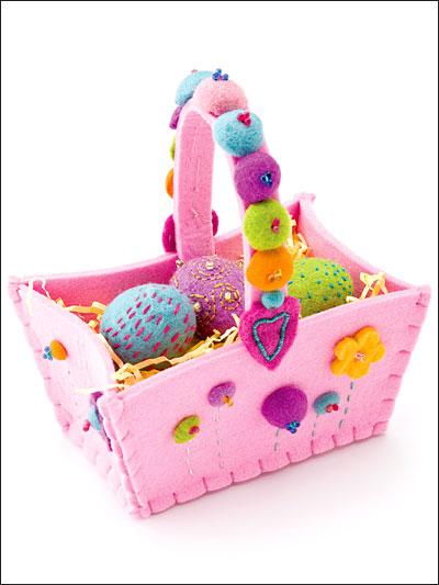 felt basket