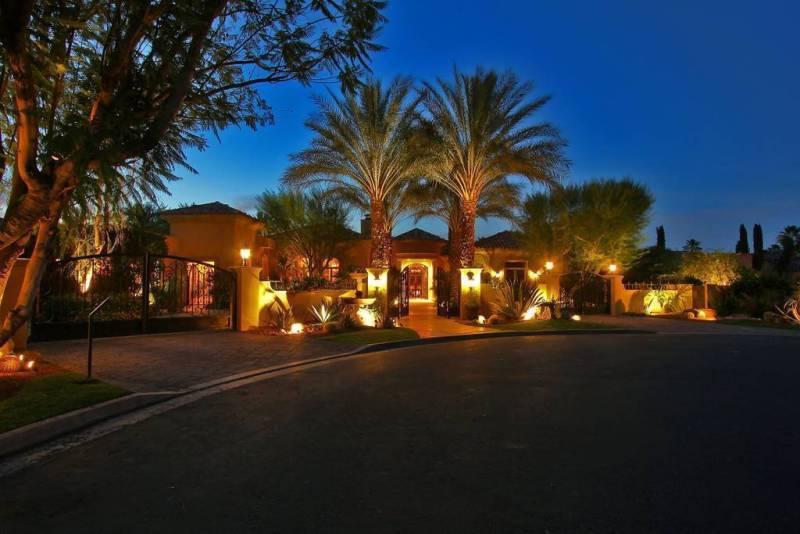 Stunning Mediterranean Desert Oasis Rancho Mirage, CA