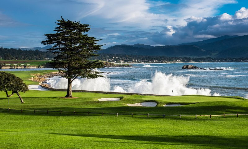 Pebble Beach Golf Links – Pebble Beach, CA