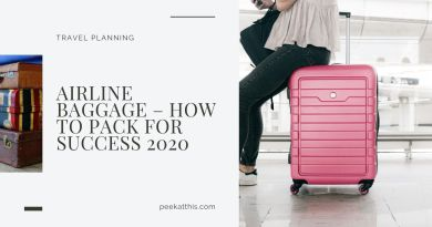 Airline Baggage – How To Pack For Success 2020