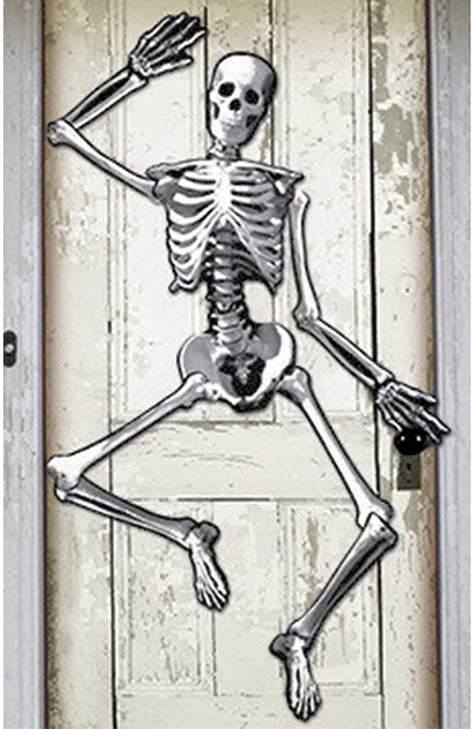 Jointed Skeleton Cutout