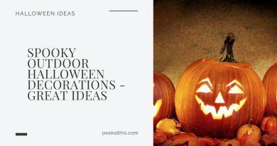 20+ Spooky Outdoor Halloween Decorations Your Yard Needs