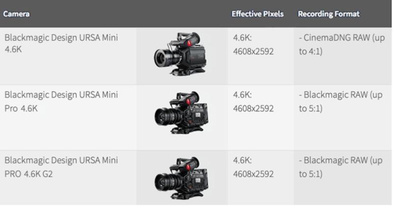Netflix approved Cameras
