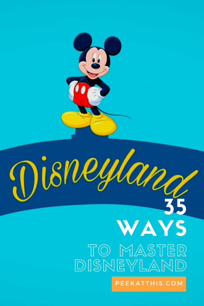 35 Awesome Ways To Master A Disneyland Vacation