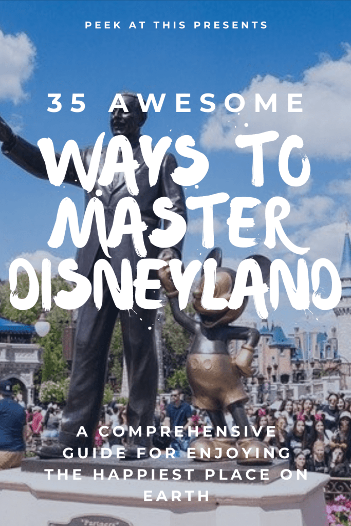 35 Awesome Ways To Master A Disneyland Vacation 1