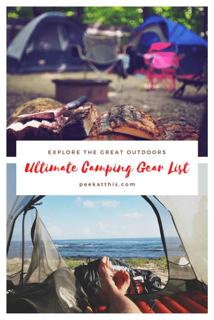 Ultimate Camping Gear list