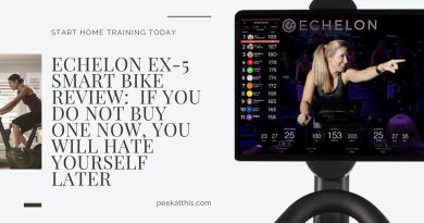 ECHELON EX5 SMART BIKE Review