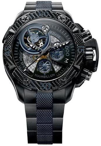 Zenith Men's 96.0529.4035/51.M Defy Xtreme Tourbillon Titanium Chronograph Watch - Amazon reviews