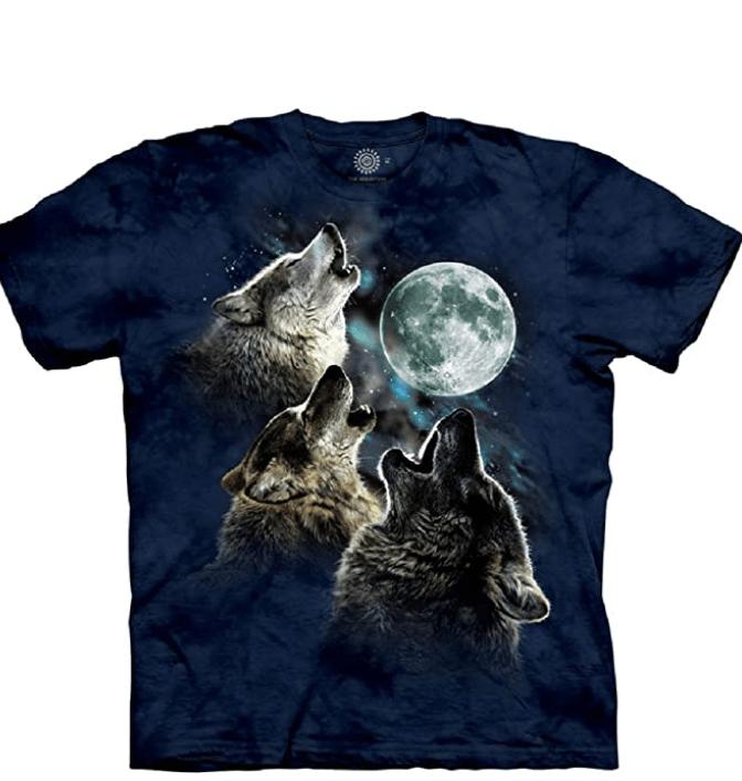 The Mountain Men's Three Wolf Moon Short Sleeve Tee - Amazon Reviews