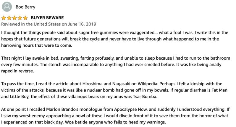 Haribo SUGAR FREE Classic Gummi Bears, 1 Lb - Amazon Reviews