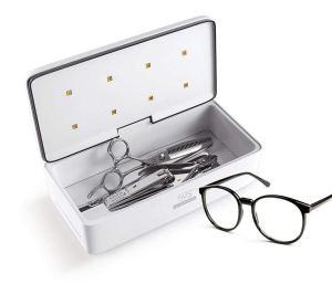 59S UV Ultraviolet LED Sterilizer Sanitization Box for Razors,Nail Scissors,Glasses,Make Up Tools