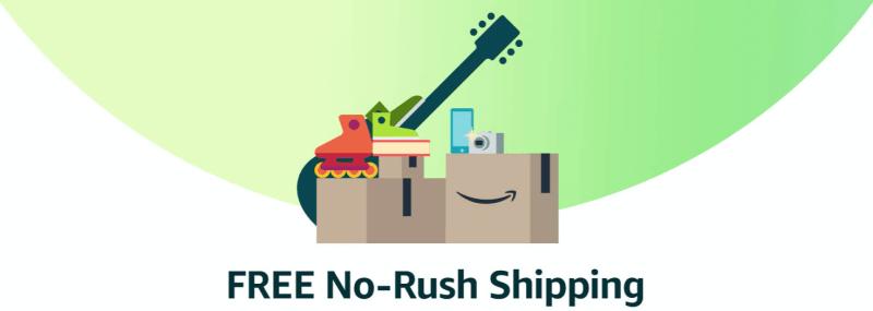No Rush Rewards On Amazon