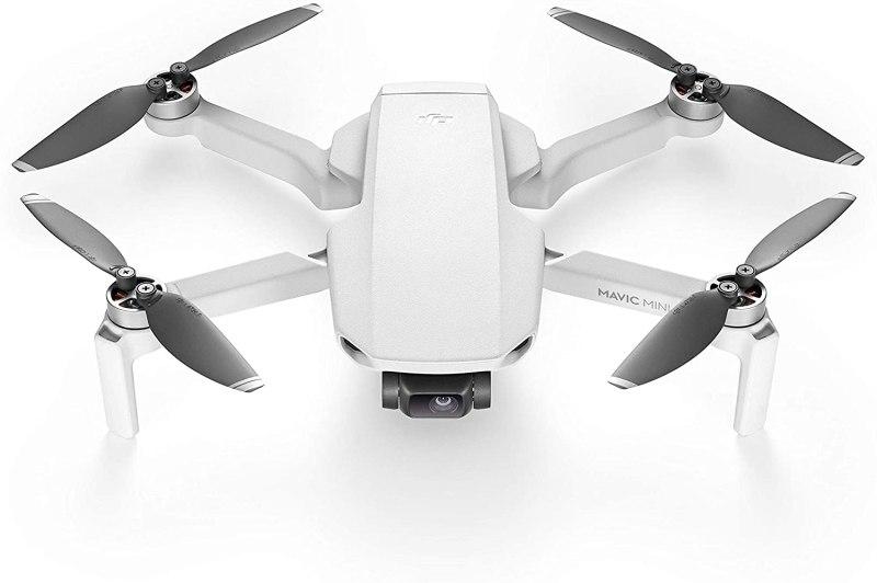 DJI Mavic Mini - Drone FlyCam Quadcopter UAV with 2.7K Camera 3-Axis Gimbal GPS 30min Flight Time, less than 0.55lbs, Gray