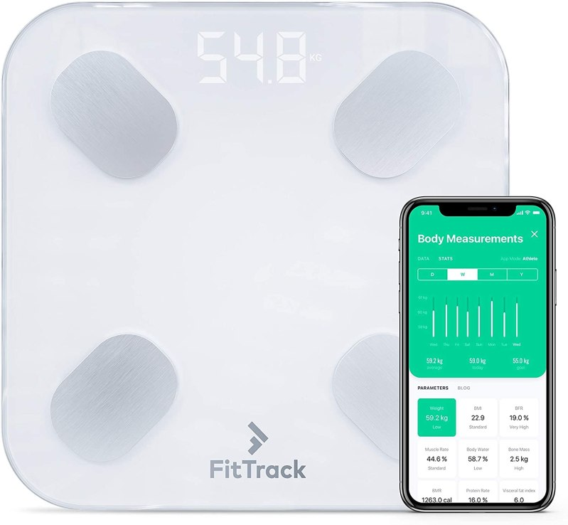 Fitness Gift Ideas To Buy For Fitness Enthusists today TRX All-in-ONE Suspension Training FitTrack Dara Smart BMI Digital Scale
