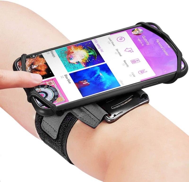 180° Rotatable Running Phone Armband
