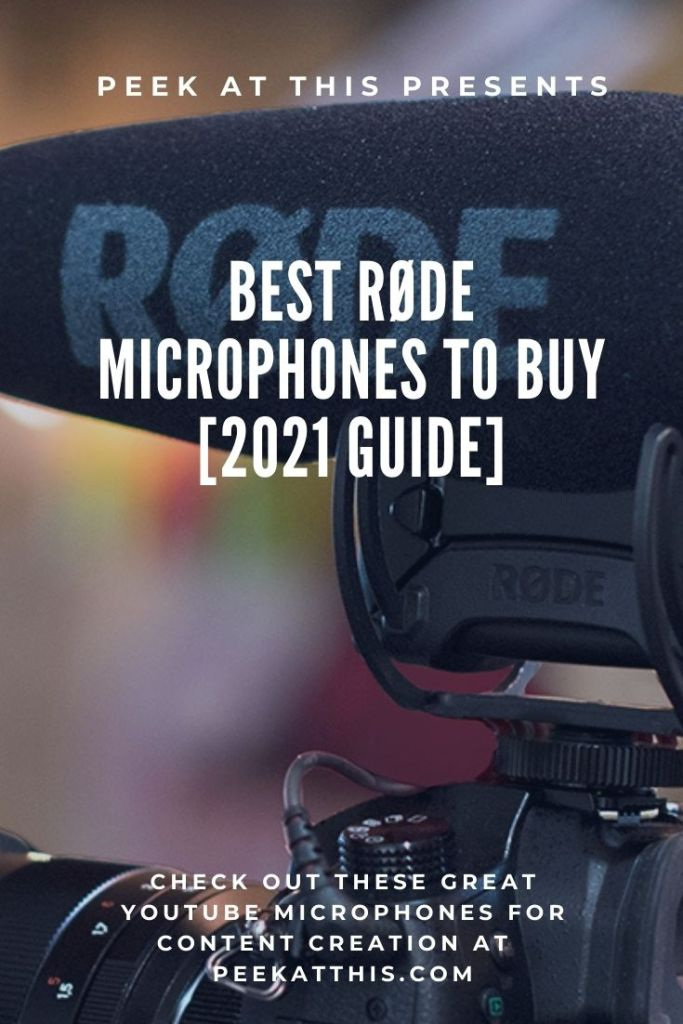 Best Røde microphones to buy [2021 Guide]
