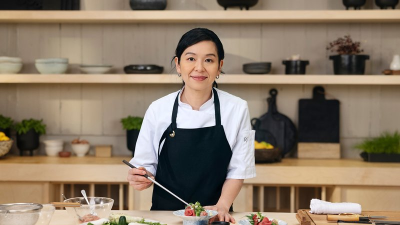 Niki Nakayama Teaches Modern Japanese Cooking