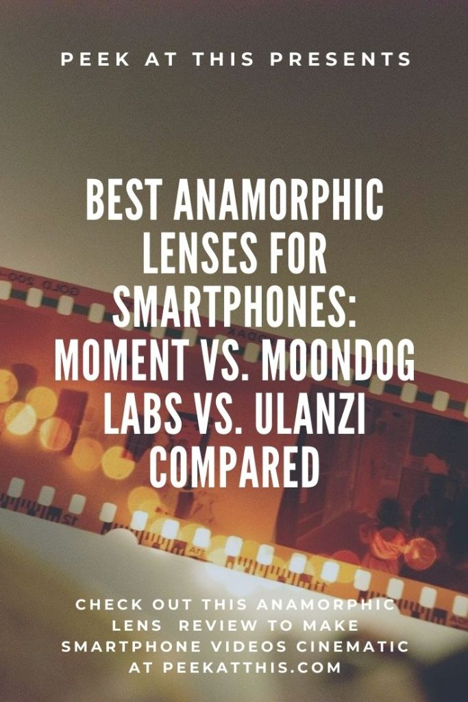 Anamorphic Lenses For Smartphones