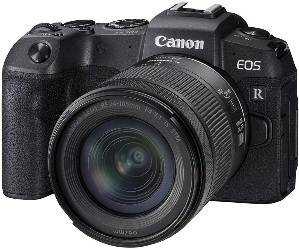 Canon EOS RP Full-frame Mirrorless Interchangeable Lens Camera