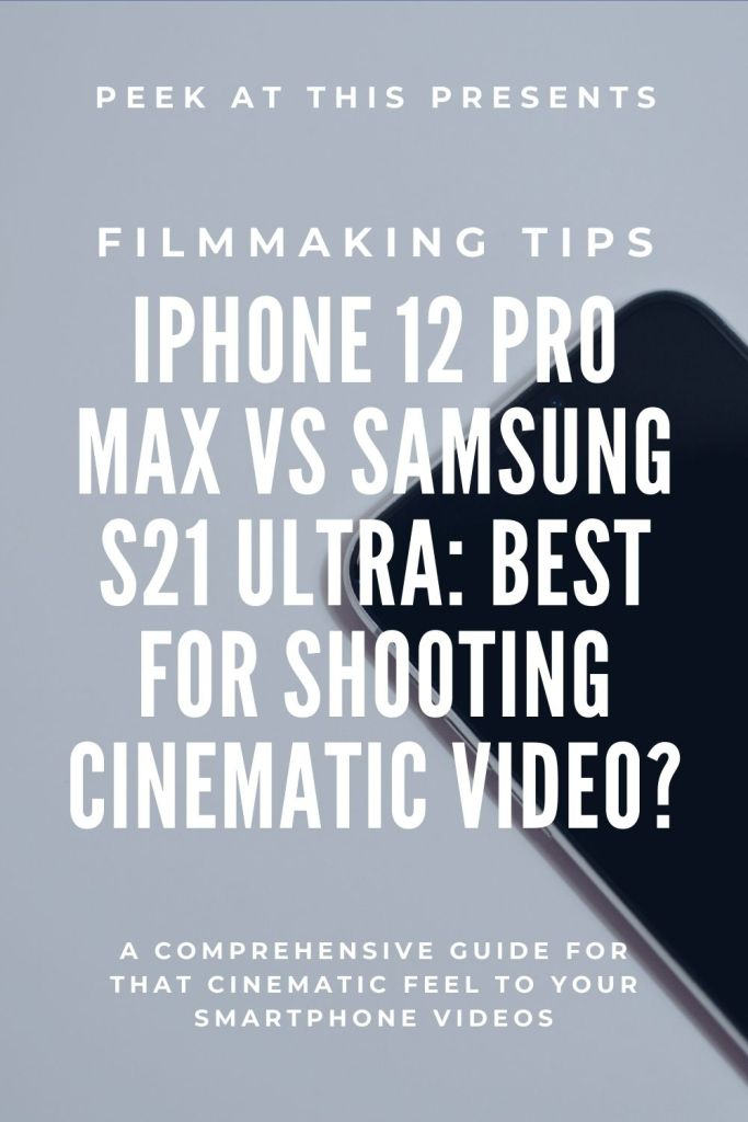cinematic video