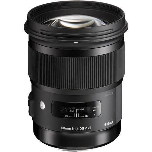 Sigma 50 mm lens
