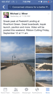 Peekskill waterfront debut