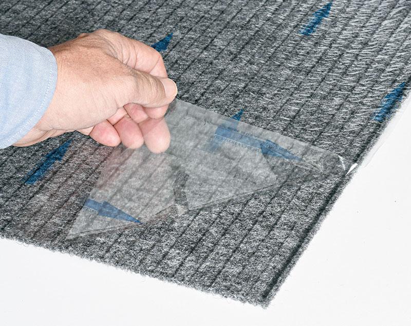 peel and stick carpet tiles a sticky
