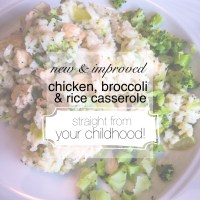Improved chicken, broccoli & rice