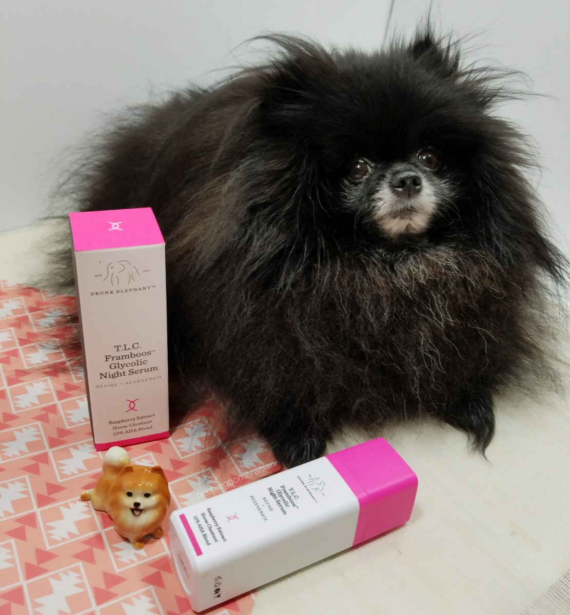 AHA Exfoliation: a Drunk Elephant T.L.C. Framboos Glycolic Night Serum Review