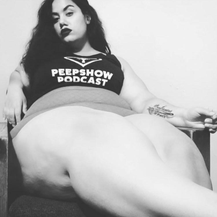 Peepshow Podcast Racerback - Luna Luz