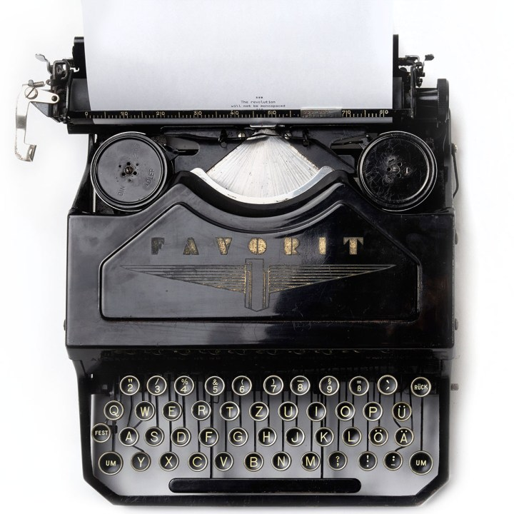 Black Typewriter