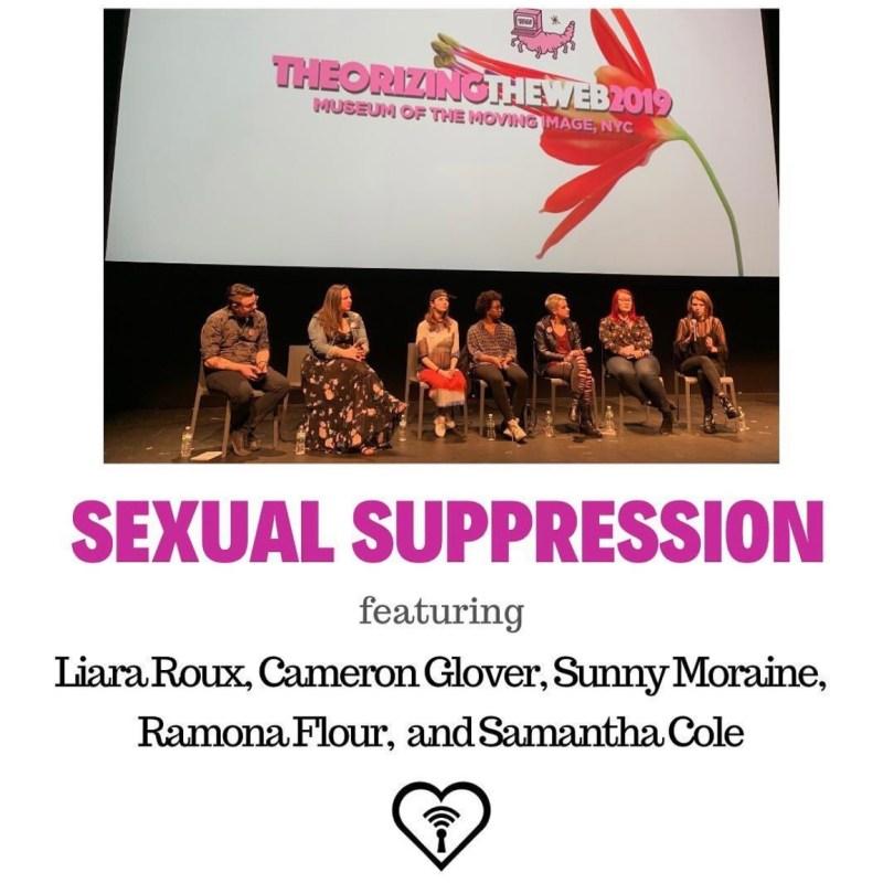 SEXUAL SUPPRESSION, FOSTA/SESTA