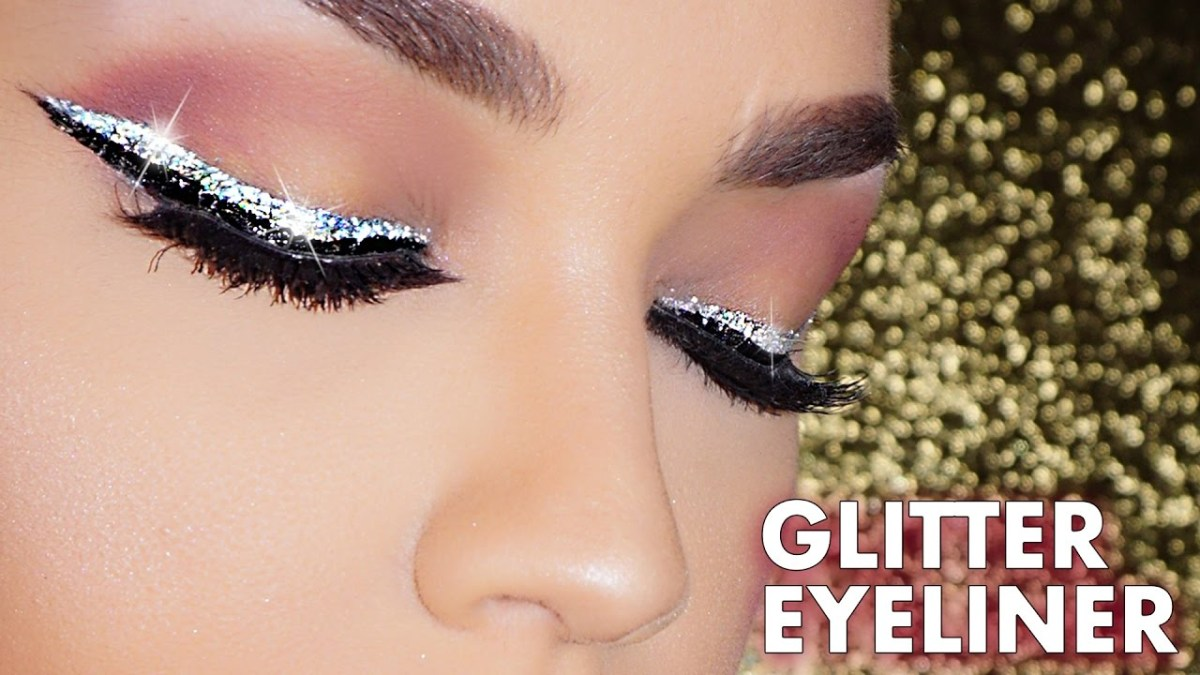 Glitter Eyeliner Silver