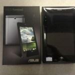 国内初 x86 Androidタブレット、Asus FonePad到着