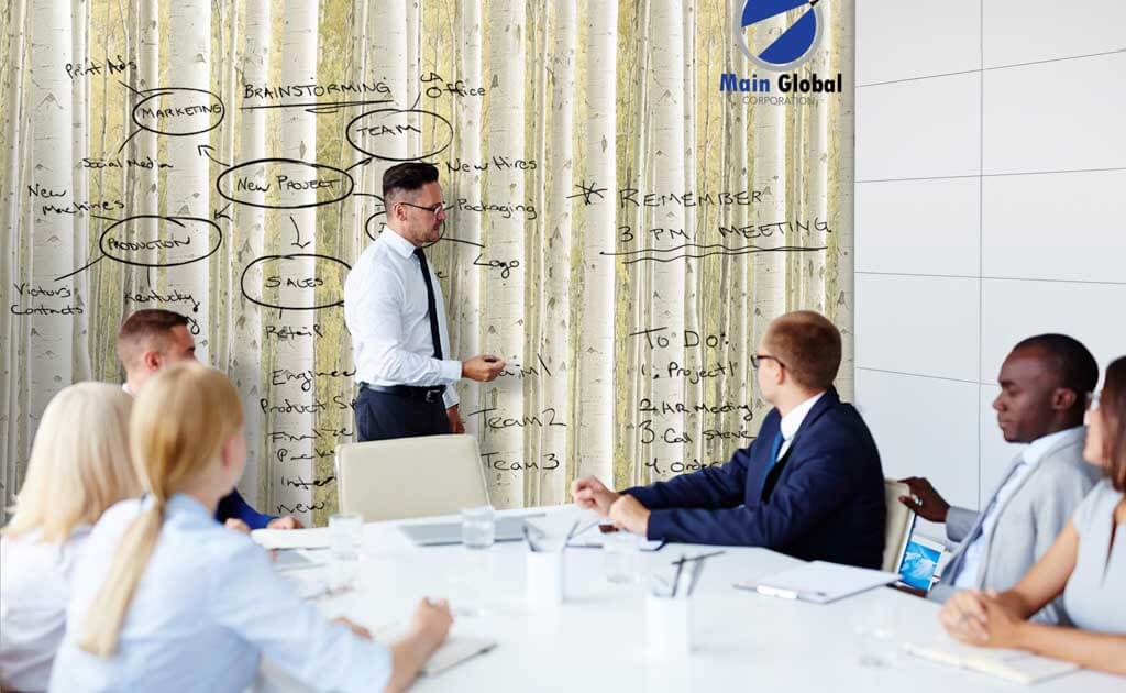 Aspen zero ghosting writable wall covering