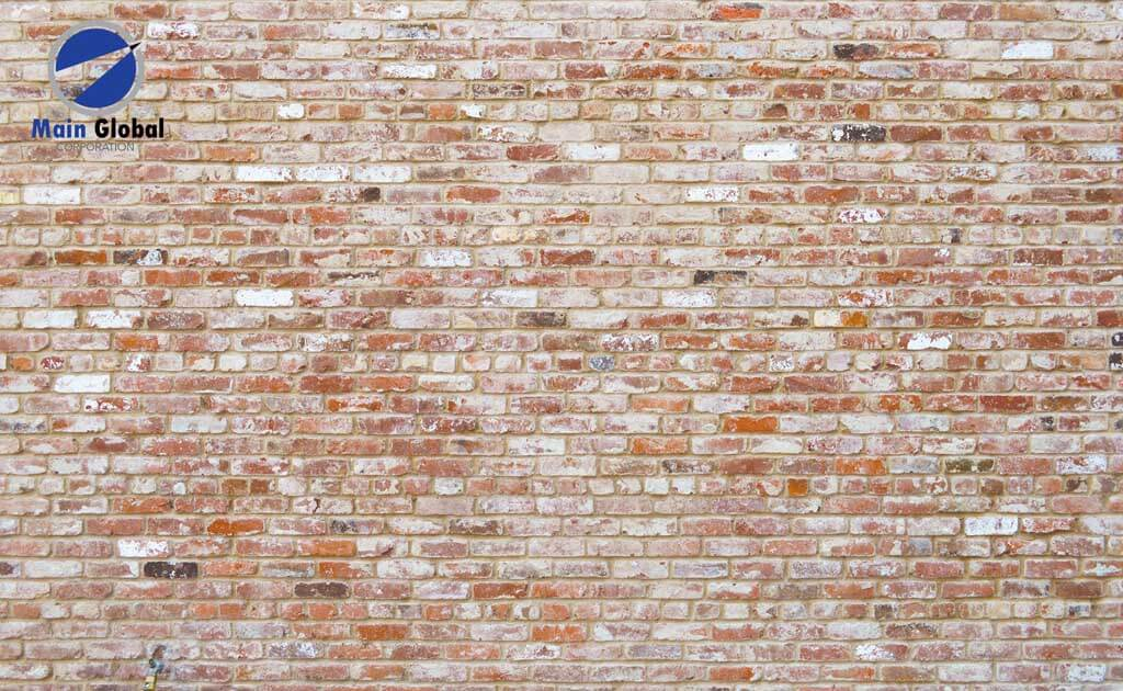 Brick Grunge zero ghosting writable wall covering