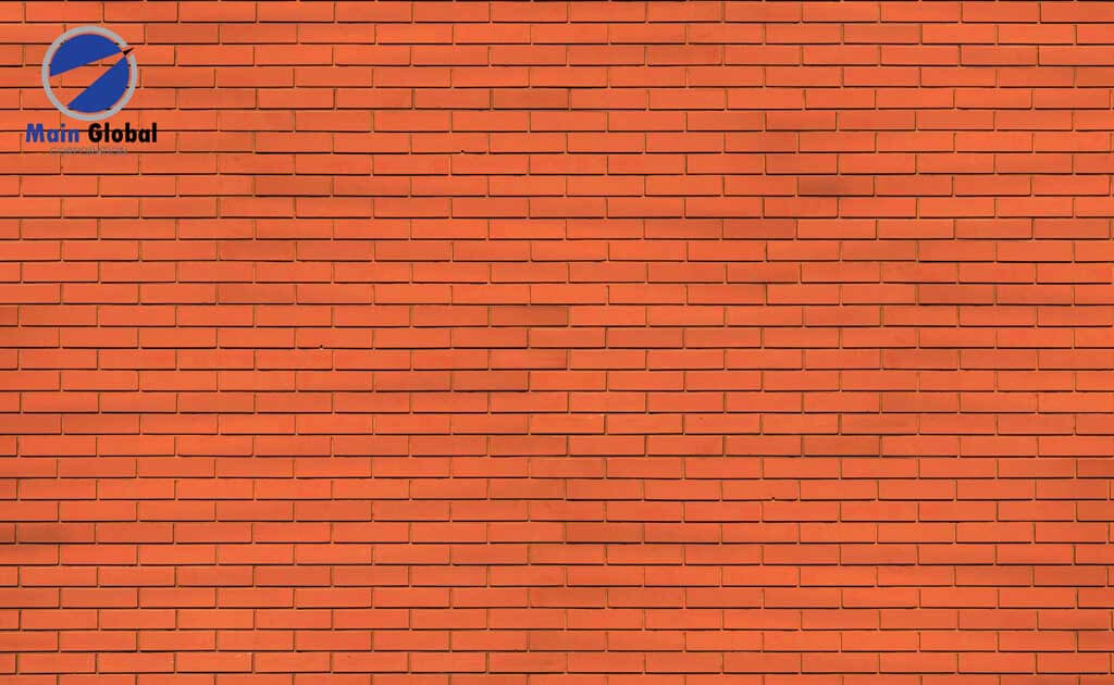 Brick-Very Red Brick zero ghosting writable wall covering
