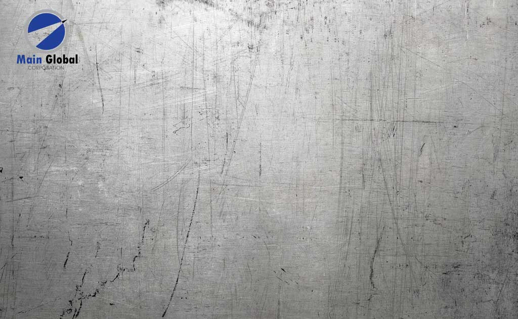 Surfaces-DistressedMetal zero ghosting writable wall covering