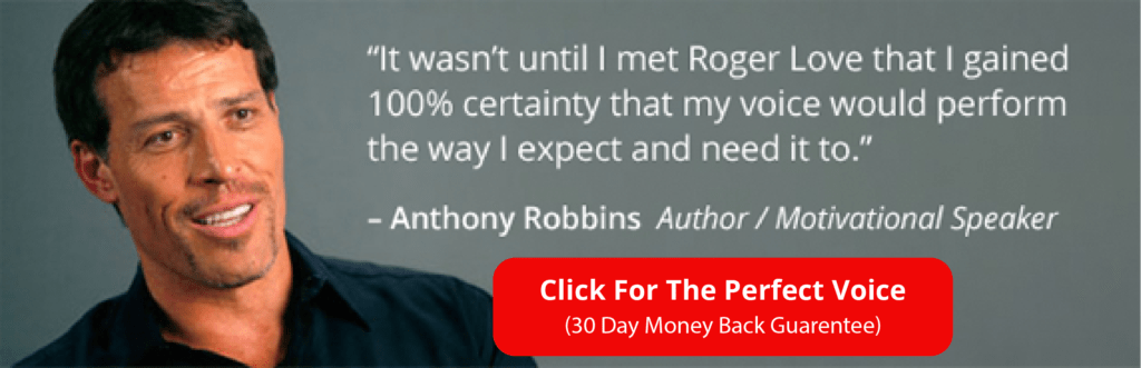 Voice Deepening Exercise: Tony Robbins, Roger Love