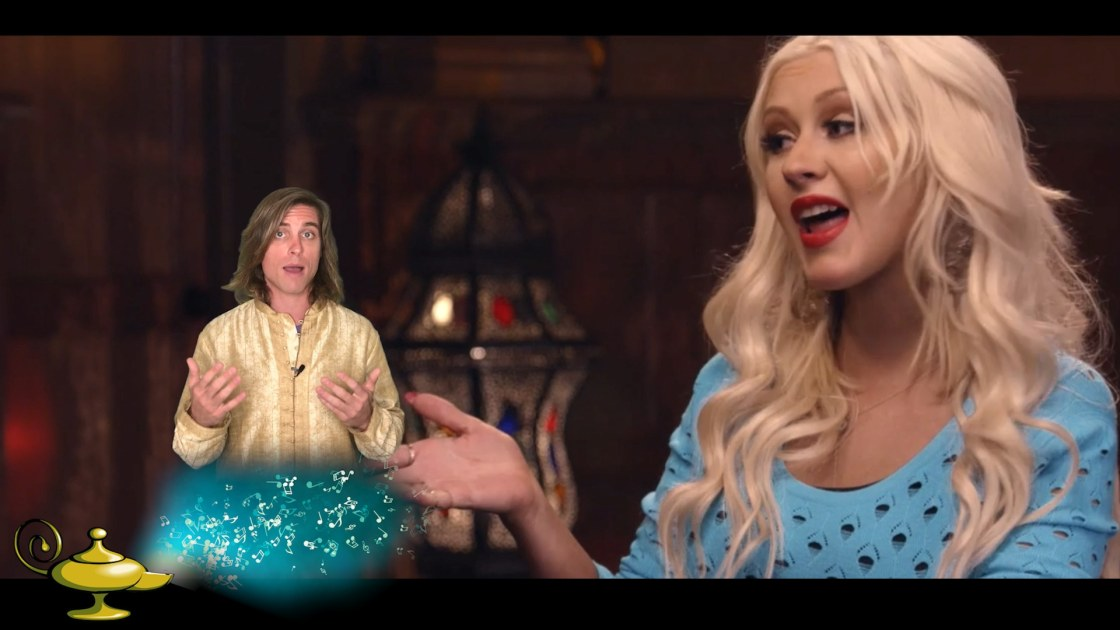 Christina Aguilera Masterclass Review