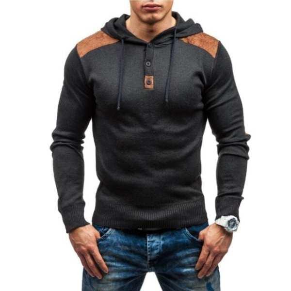 Hoodie slim fit men's designer hoodie