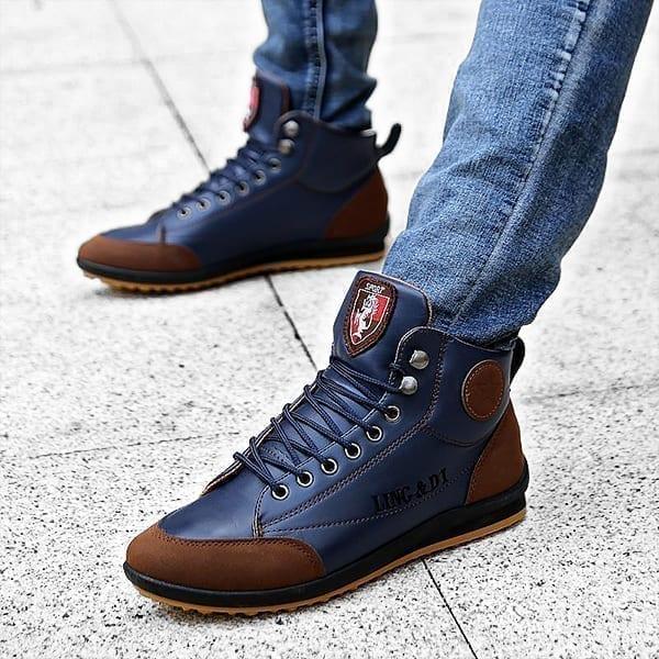 Casual élégantes confortables chaussures pour homme
