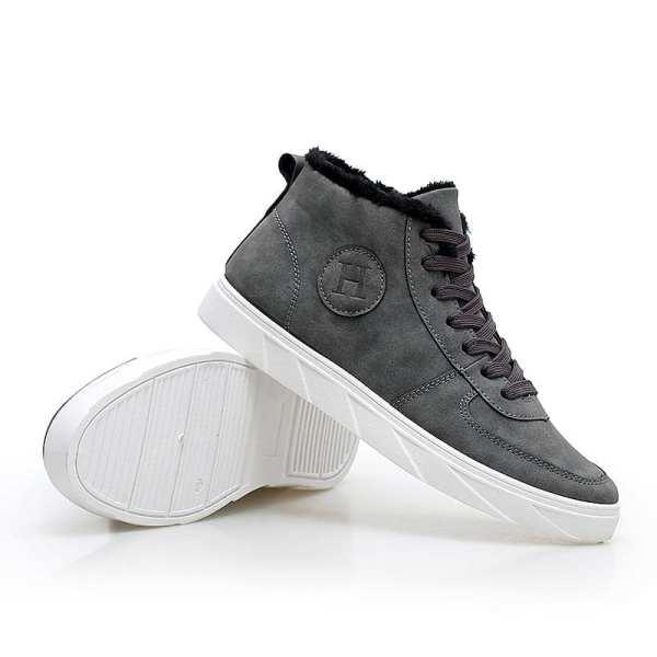 Chaussures style velour décontracté pour homme