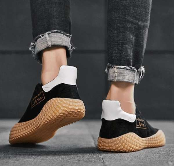 Cómodos zapatos transpirables casuales para hombre