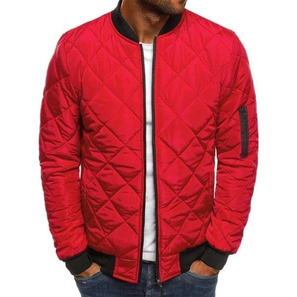 Bomber chaqueta vintage clásica para hombres