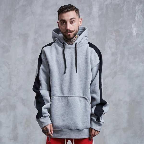 Men's vintage ample hoodie