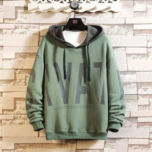 Japanese men's design hoodie hoodie